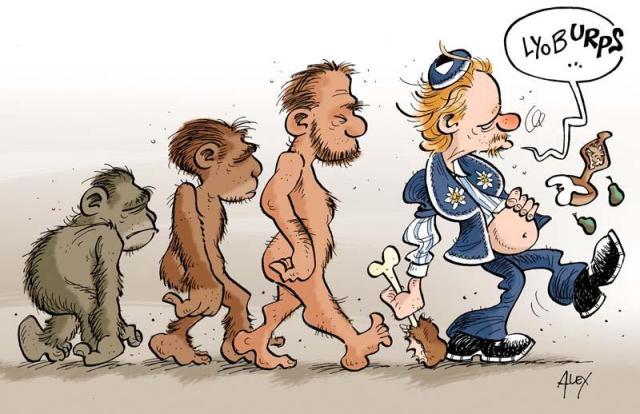 """Dessin d'Alex dnas le journal """"La Liberté"""" 2012-09-11"""