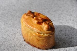 Le mini-pâté en croûte de canard aux pistaches