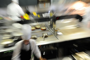 L'effervescence en cuisine