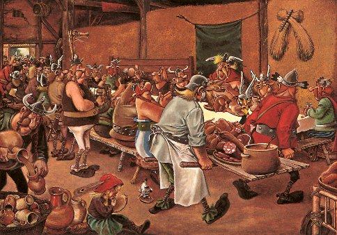 banquet celte