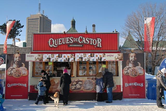 Un Kiosque au Carnaval de Québec