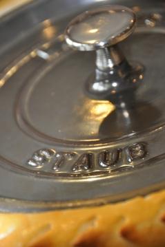 La fameuse cocotte Staub... Si chère au Alsaciens!