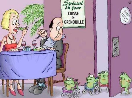 Spécial cuisses de grenouilles