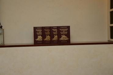 Les quatre volumes...