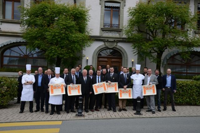 Les dernier membre intronisés à l'antenne Suisse de l'Académie