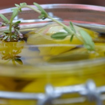 Recouvrir d'huile d'olive...