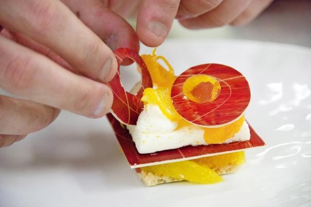 Montage du dessert