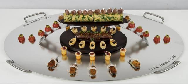 Le plat de viande du Vainqueur©académie Suisse du Bocuse d'Or