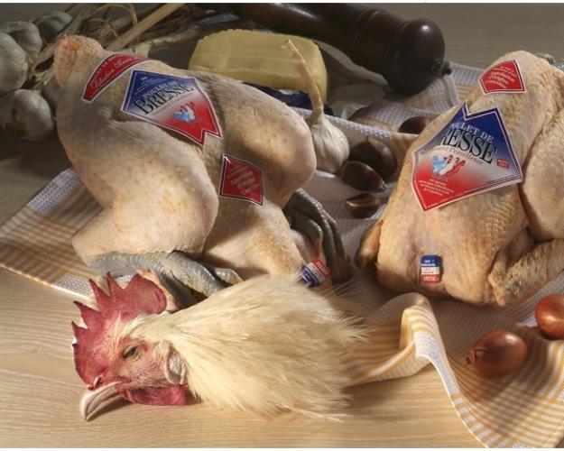 Poulets de Bresse