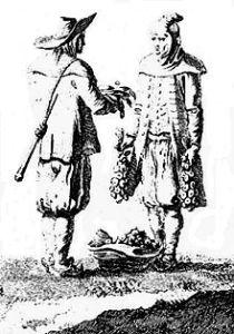 Marchand_de_panais_près_de_Pont-Croixvers 1794 (Jacques Cambry)