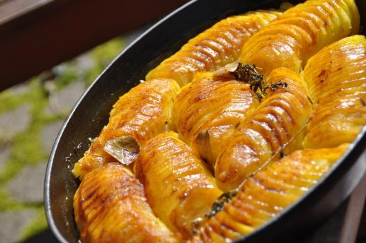 Mes pommes de terre boulang res st phane d cotterd - Pomme de terre rissolees maison ...