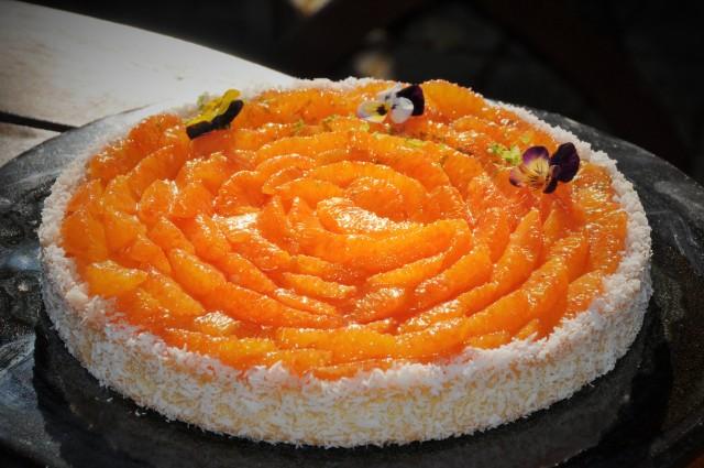 Tarte à l'orange sanguine (2)
