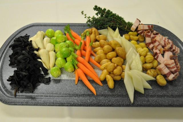 Légumes poulet cocotte