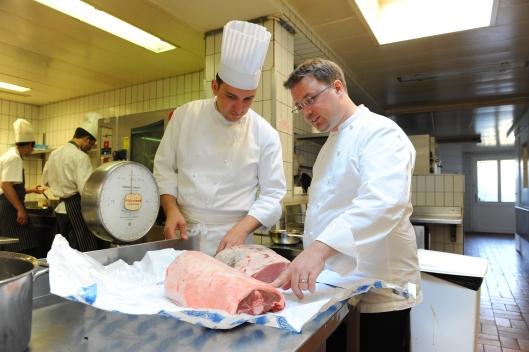 Restaurant : Le Pont de Brent Chef :  Stéphane Décotterd Photo Alain Grosclaude Mention Obligatoire