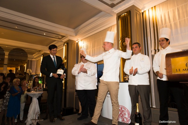 photo culinaire, clarens,montreux, chef, prix taittinger, champagne