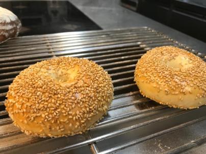 Bagels cuits